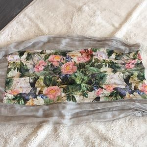 Anthropologie long wrap scarf